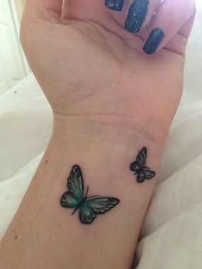 Awesome Butterfly Tattoo Design Ideas For Women 40