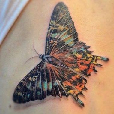 Awesome Butterfly Tattoo Design Ideas For Women 44