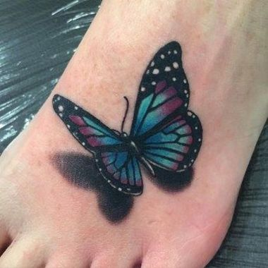 Awesome Butterfly Tattoo Design Ideas For Women 47