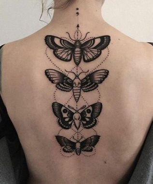 Awesome Butterfly Tattoo Design Ideas For Women 52