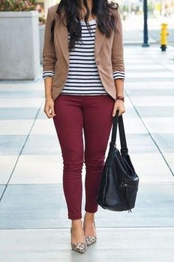Casual Spring Outfits For Women To Look Cute 15