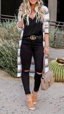 Casual Spring Outfits For Women To Look Cute 40