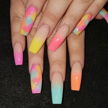 Prettiest Acrylic Nail Art Designs For Summer 47