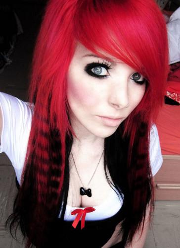 Teen Sexy red hair girl
