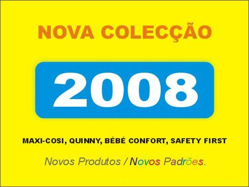 Nova colecção Bébé Confort Maxi-Cosi 2008