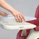 Cadeira de papa tabuleiro amovível