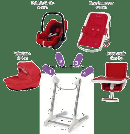 keyo alcofa pebble espreguiçadeira cadeira