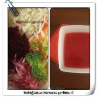 Bebegimin kırmızı çorbası :)