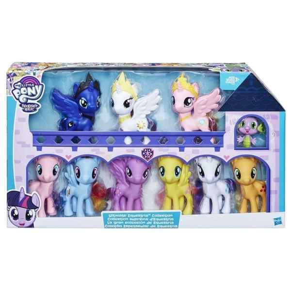 Coleção My Little Pony A Amizade é Mágica Equestria Ultimate
