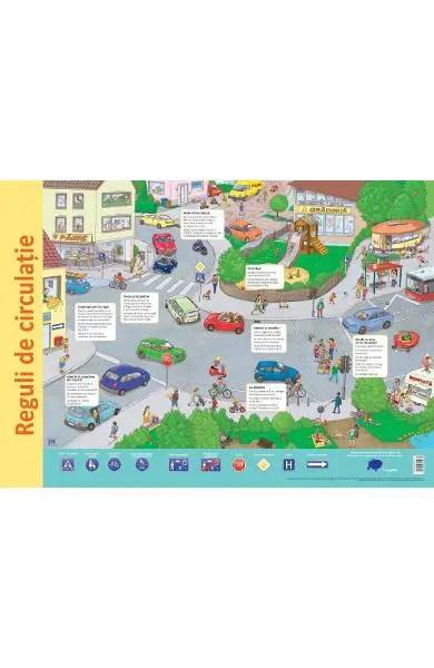 Plasa: reguli de circulatie, reguli de circulatie copii, planse educative, planse gradinita, planse semne circulatie, dph