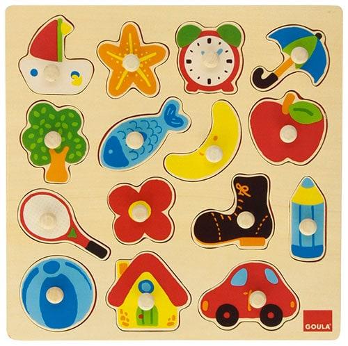 Juegos bebe 12-18 meses: Puzzle
