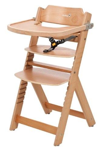 Dos tronas de beb baratas de madera y convertibles - Tronas de mesa para bebes ...