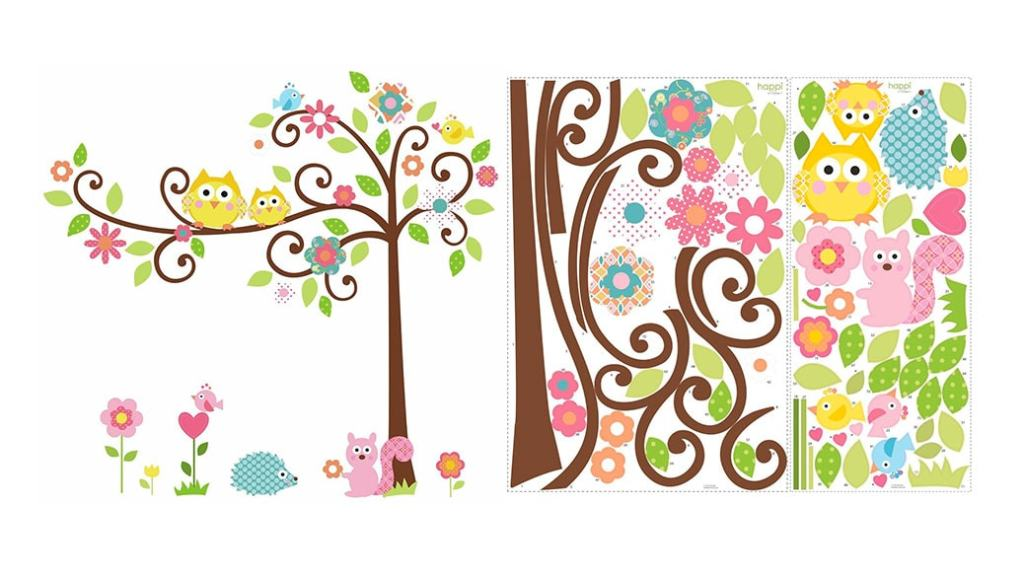 3 vinilos decorativos infantiles baratos para decorar la habitación de tu bebé
