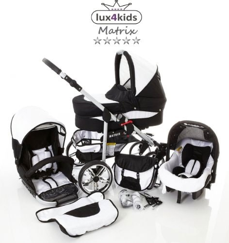 Carrito de bebé: Lux4kids Matrix 2