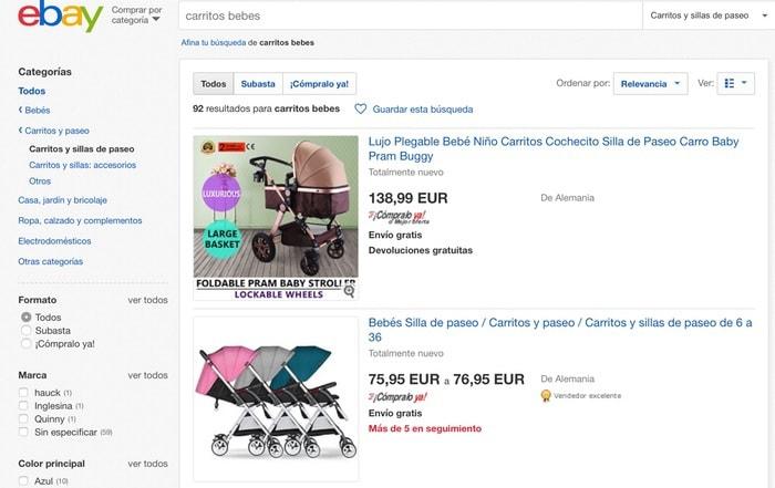 carritos bebes de segunda mano y nuevos en eBay España