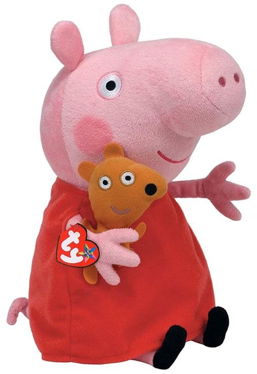 Peppa Large: Peluche de Peppa Pig