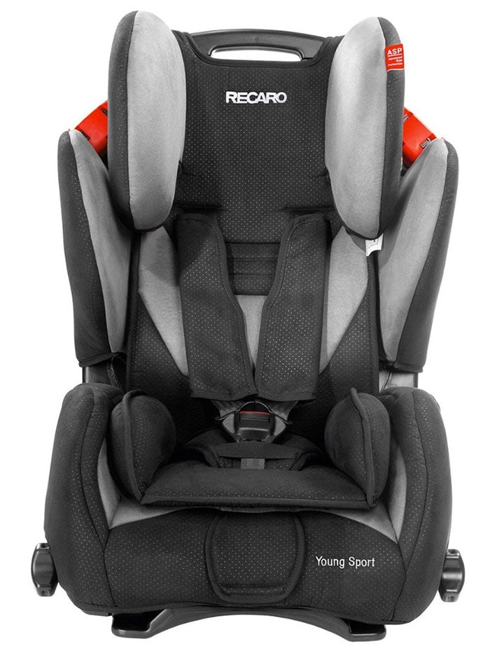 silla de bebe para auto recaro