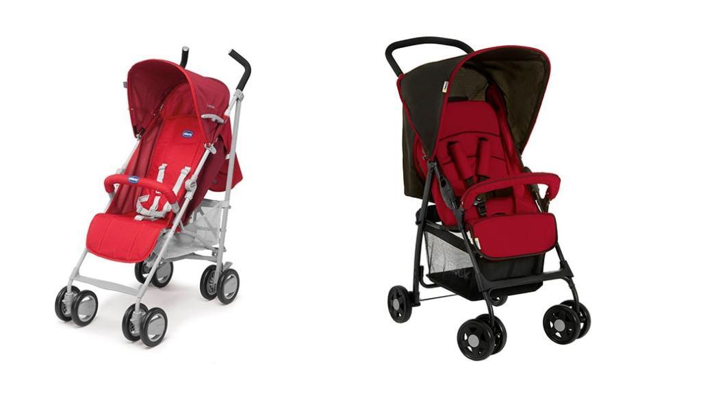 2 sillas de paseo para bebés por 70 Euros: Chicco London y Hauck Sport