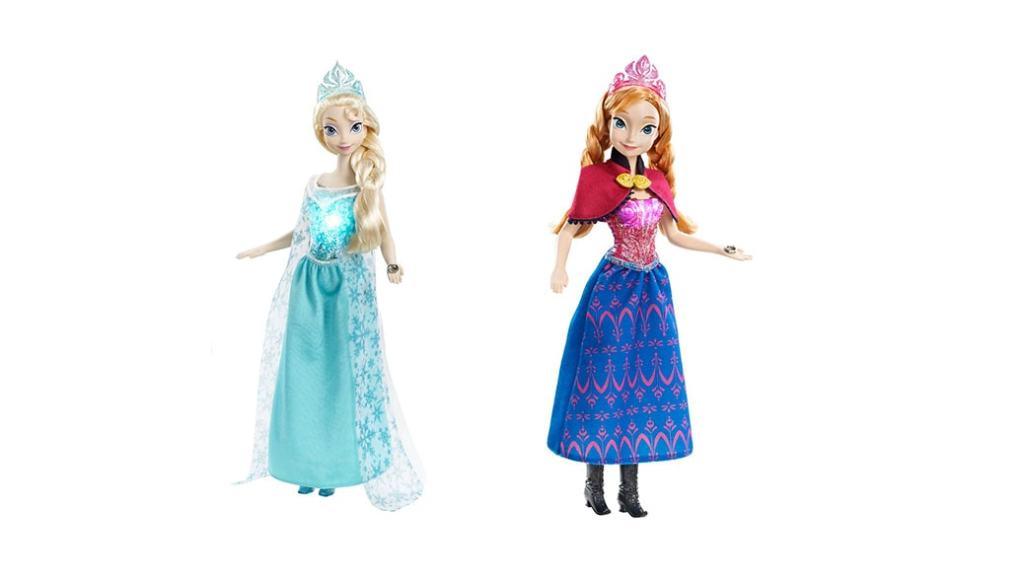 ¿Dónde podemos comprar las muñecas de Frozen, Elsa y Ana musical?