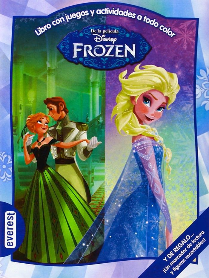 libro frozen actividades
