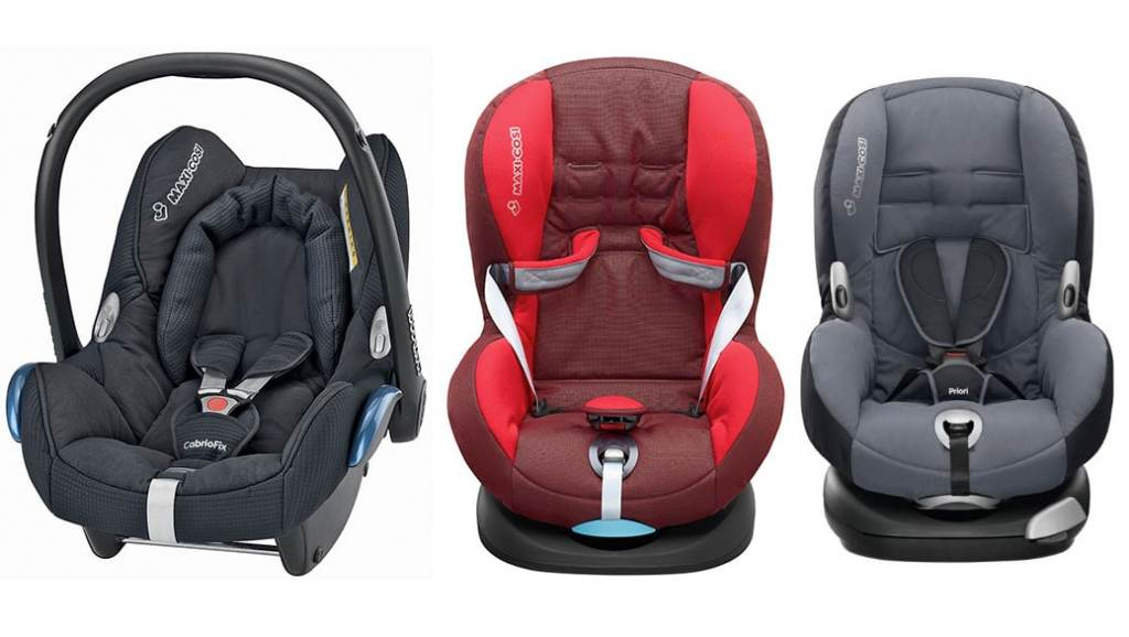Maxi-Cosi Cabriofix, Priori SPS Plus y Priori XP