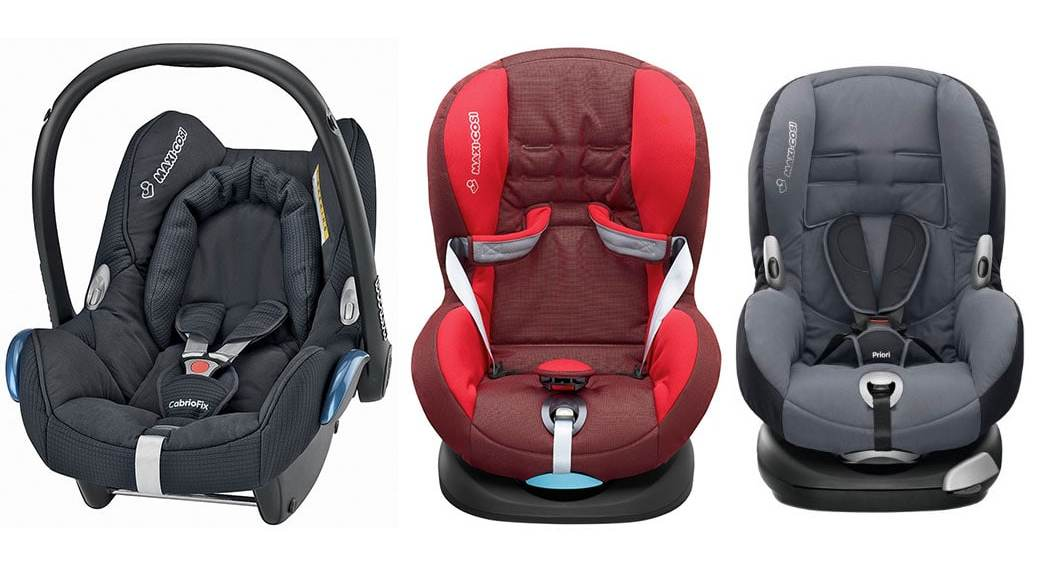 Maxi Cosi Cabriofix Car Seat Summer Cover