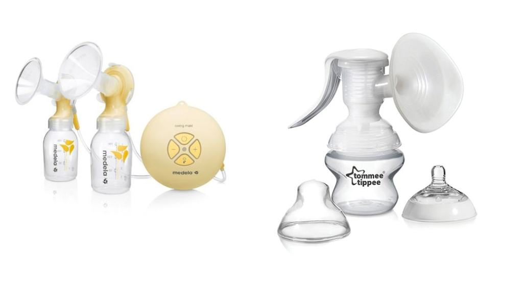 Comparativa sacaleches: Medela Swing Maxi vs Tommee Tippee Closer to nature vs Medela Extractor Swing