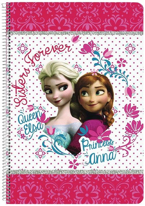 Frozen - Libreta folio 80 CN