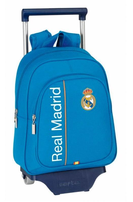 Real Madrid - Mochila infantil con ruedas