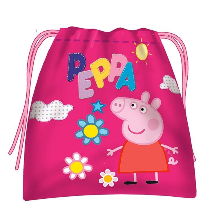 Peppa Pig - Saquito merienda