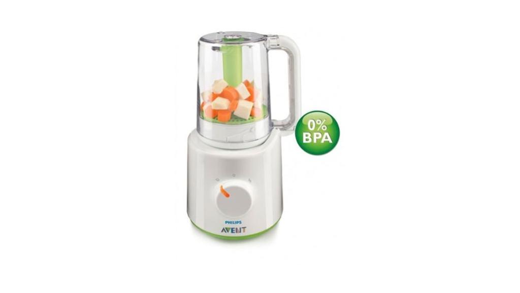 Philips AVENT SCF870/20 – Tritura y cuece los alimentos del bebé de manera fácil (papillas)