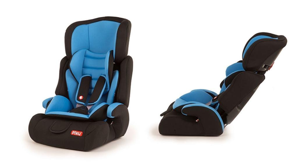 silla de coche piku del grupo 1 2 3 por unos 50 euros