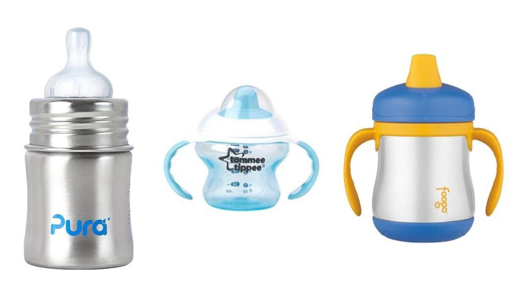 Vasos y termos para bebés: Pura Kiki vs Tommee Tippee Explora First Sips vs Thermos Foogo Fases Sippy Cup