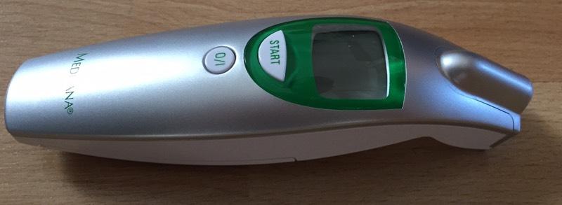Medisana FTN - Termómetro por infrarrojos para bebés