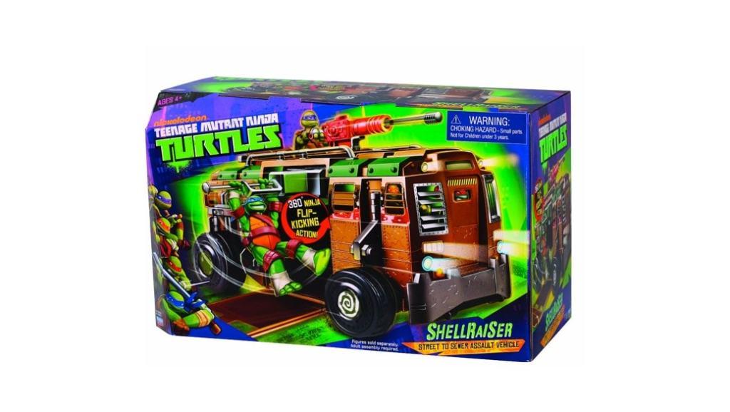 Tortugas Ninja y autocaravana Shell Raiser: uno de los juguetes más populares de las navidades 2014