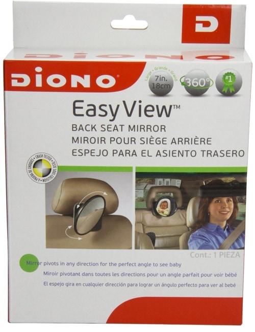 Diono 40110 - Un buen espejo para el asiento trasero de tu coche para ver a tu bebé