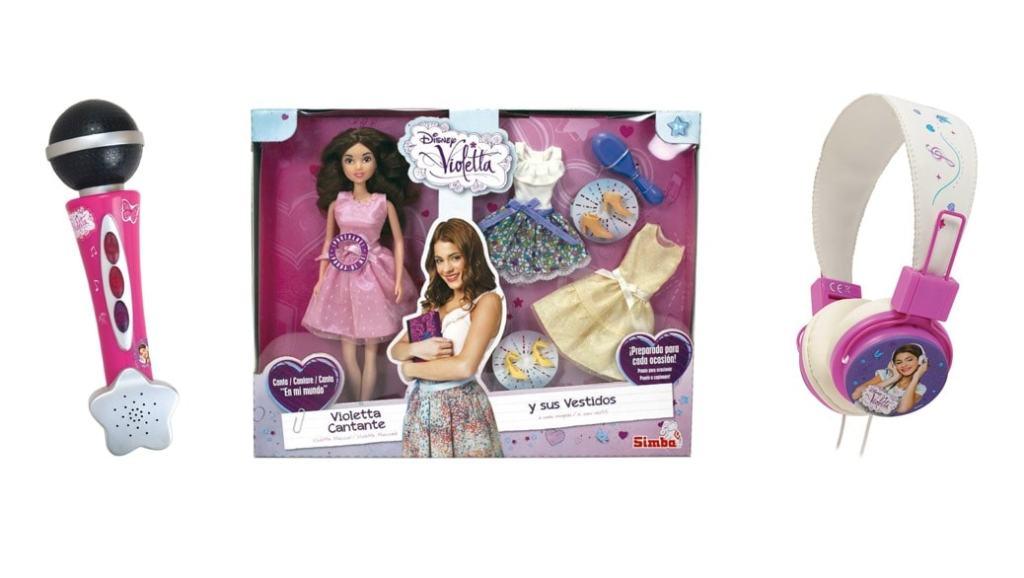 Los 3 juguetes más populares de Violetta para regalar estas navidades 2014