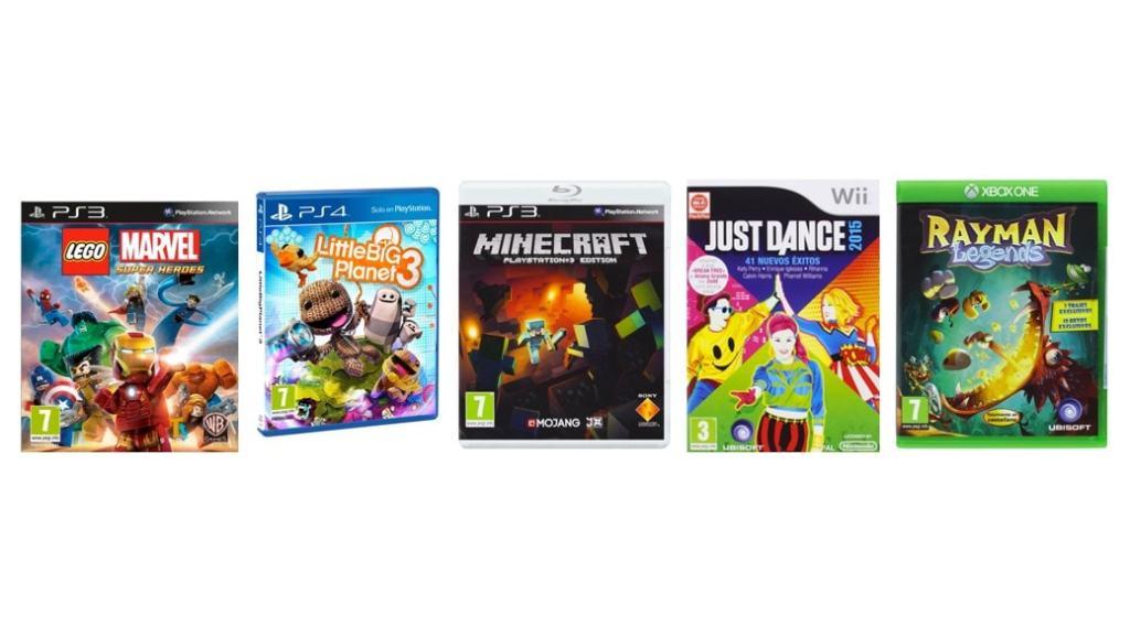 Top 5 videojuegos recomendados para niños y niñas - PS4, Xbox, Nintendo, PC (2014)