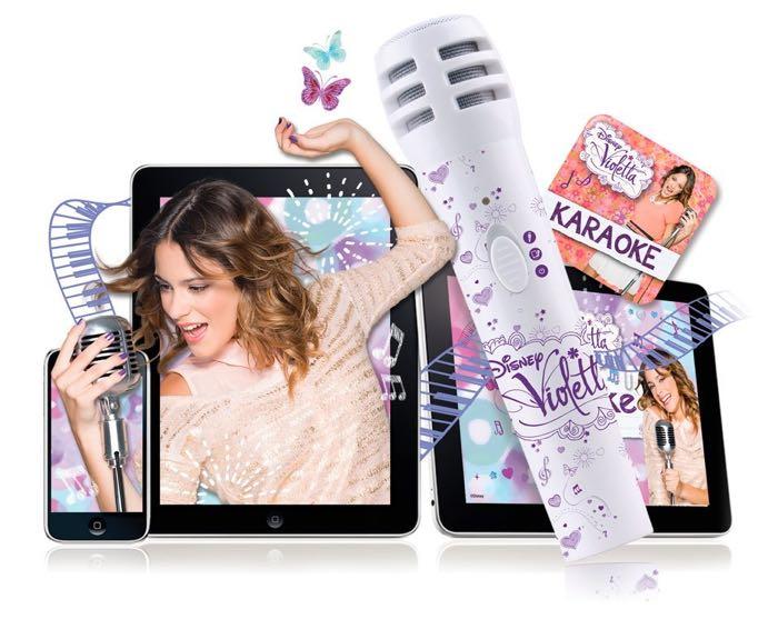 Violetta - Karaoke con micrófono y app