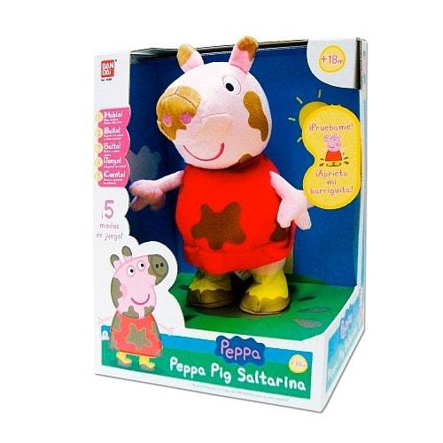 Peppa Pig - Figura saltarina en oferta en Amazon España durante el Cyber Monday