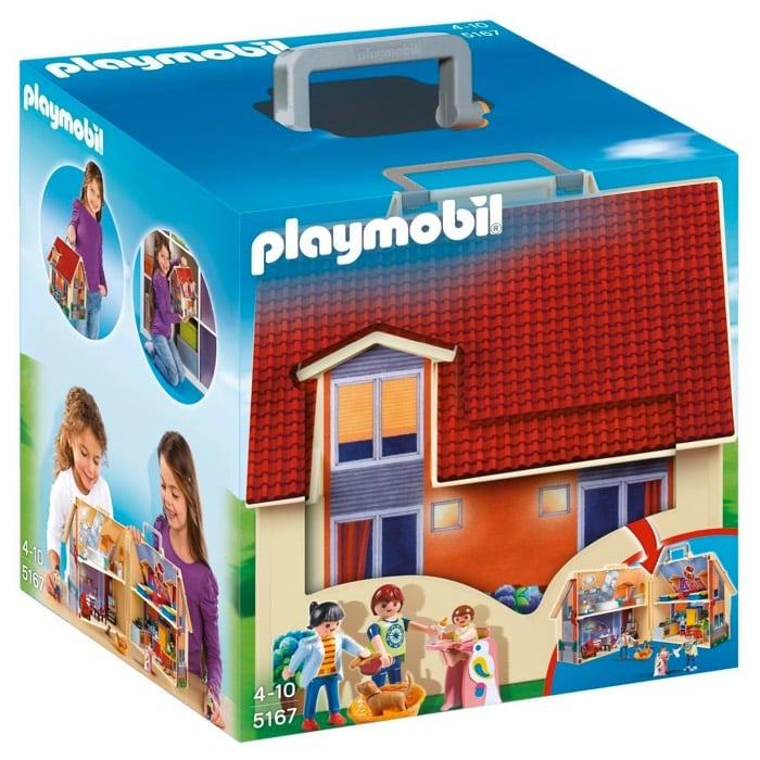 Playmobil - Casa de muñecas maletín