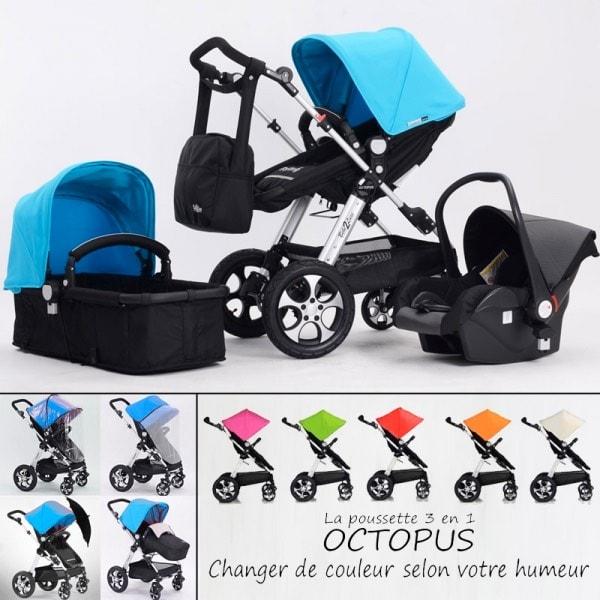 cochecito bebe2luxe octopus 3 en 1 opini n y an lisis. Black Bedroom Furniture Sets. Home Design Ideas