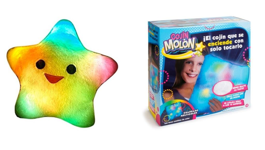 Cojín Molón vs Estrella Almohada Luminosa: cuál es el mejor juguete luminoso para niños