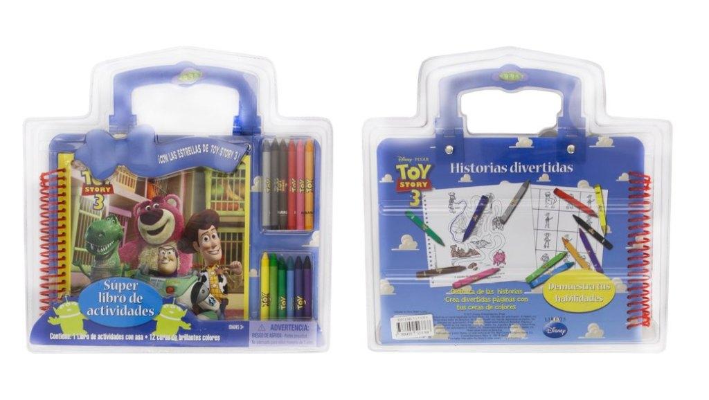 Libro de actividades Disney Toy Story 3 para niños por menos de 2 euros