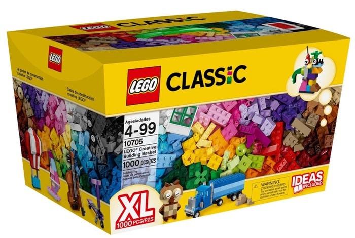 LEGO Classic Cesta de construcción creativa - juegos de construcción