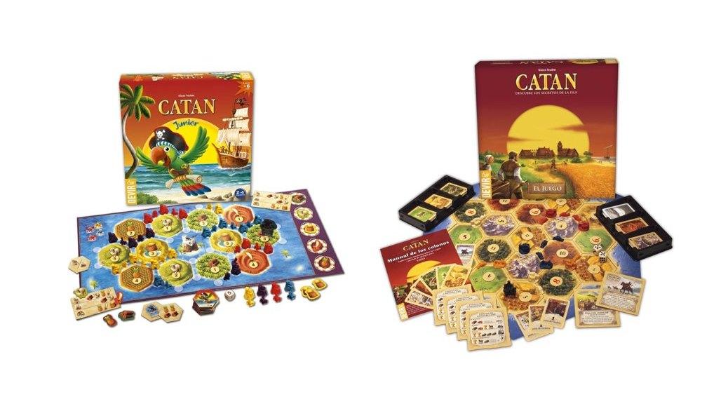 El mejor juego de mesa para jugar en familia catan - Catan juego de mesa ...
