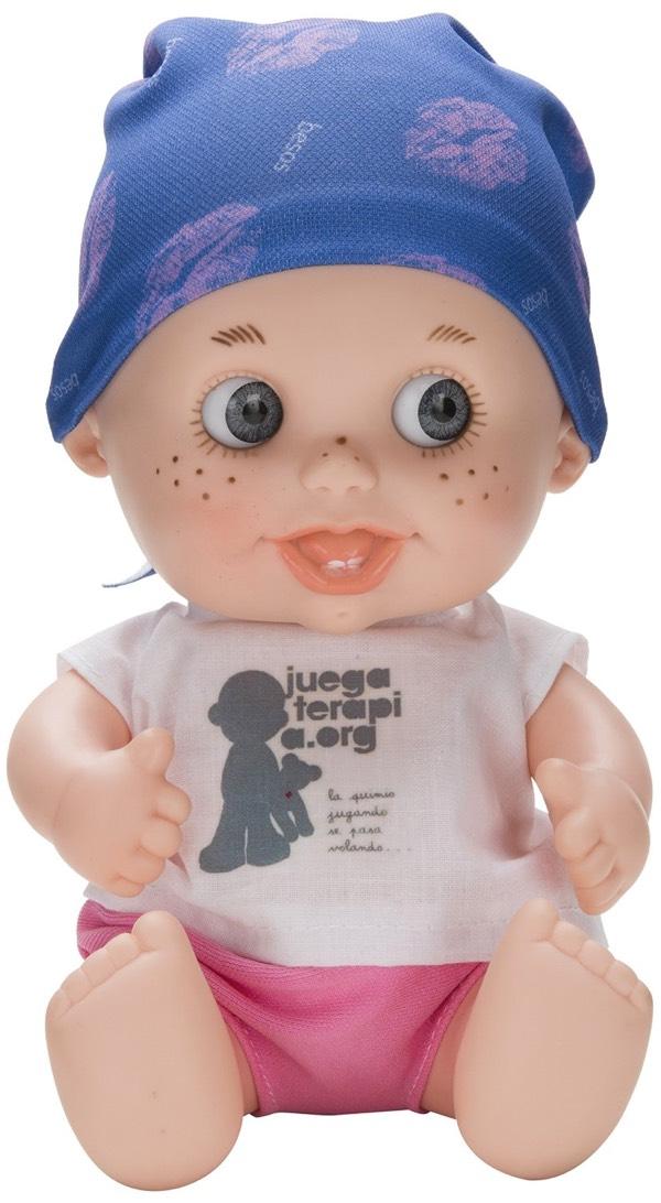 Juegaterapia - Muñeco Baby Pelón Vicky Martín Berrocal (Berjuán 0142)