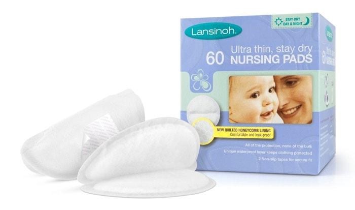 Lansinoh - Almohadillas de lactancia desechables (caja de 60 unidades)
