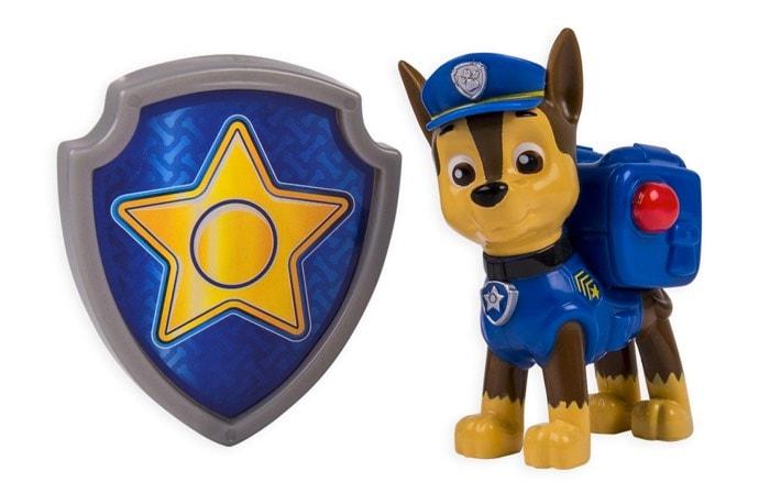 Paw Patrol Chase & Placa