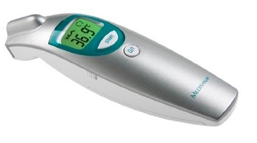 Termómetro digital por infrarrojos sin contacto de Medisana